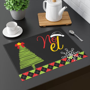 Christmas Tree Noel Placemat Thouky