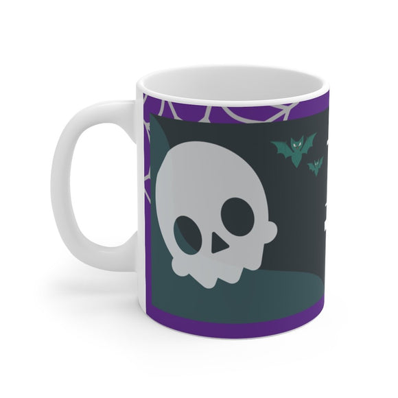 Trick or treat skull Mug