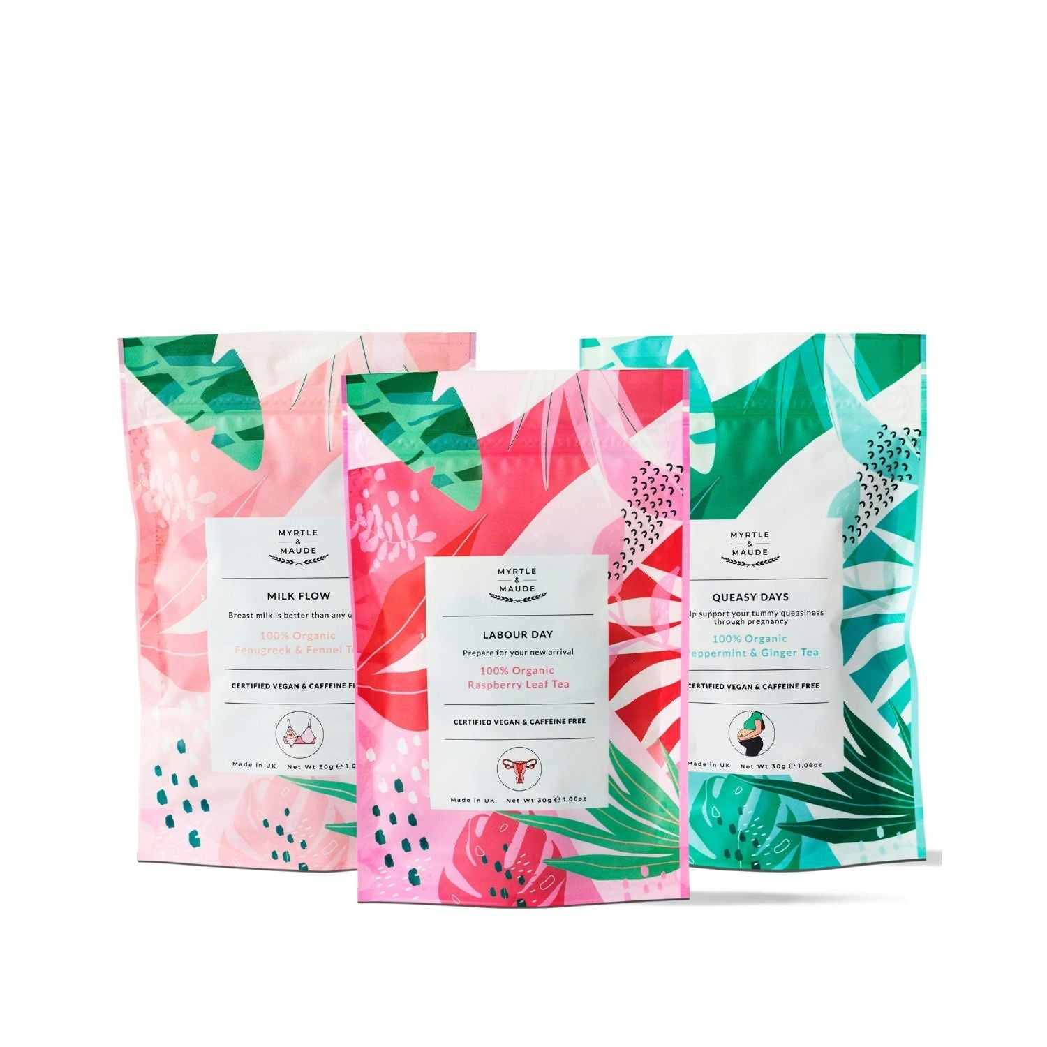 Organic Trimester Teas Bundle