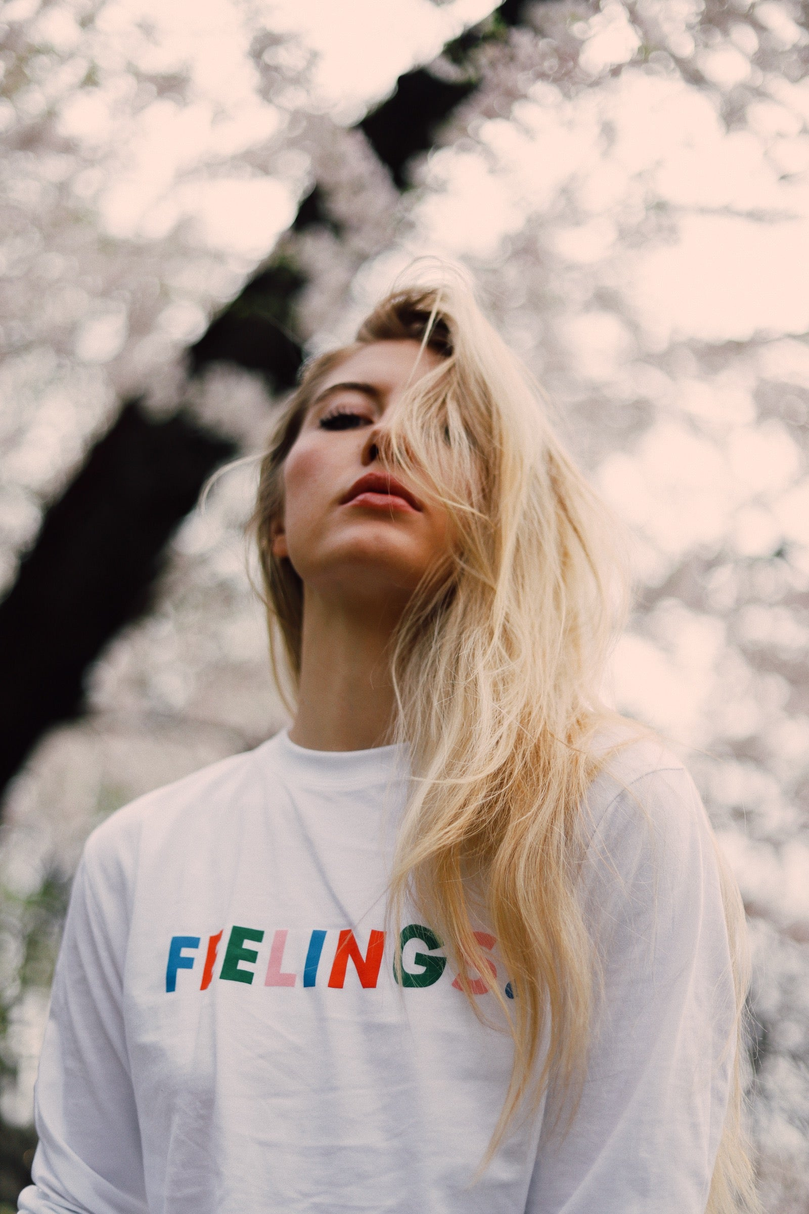 "The West of Breakfast x 123 Ciao ""Feelings"" Tee."