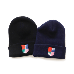 West of Breakfast | The Beanie in Navy