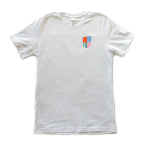 West of Breakfast | The Logo Tee in White