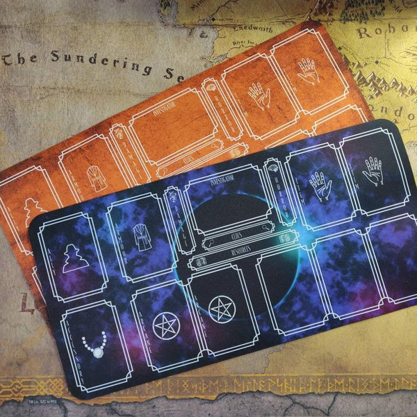 Arkham Horror LCG Playmat, Player Mat for Arkham Horror, Gaming Dashboard Organiser, Playmat Organiser
