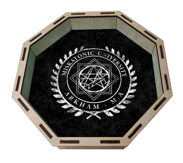 Dice Tray- Miskatonic University Dice Tray