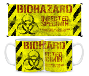 Coffee Mug- Biohazard Zombicide Inspired Cup