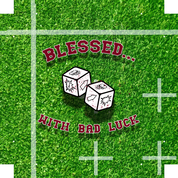 Dice Tray- Bloodbowl Pitch Inspired Pattern