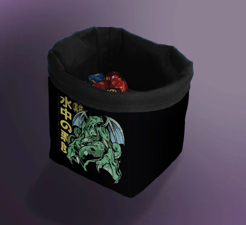 Printed Dice Bag- Cthulhu Anime Dice Bag