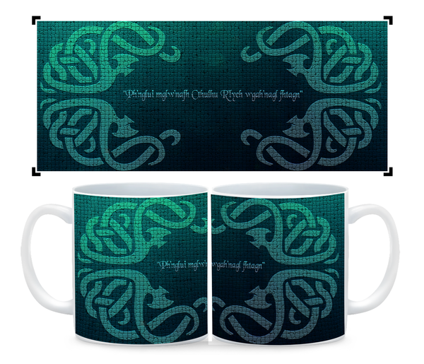 "Coffee Mug- Cthulhu ""The Deep One"" Cup"