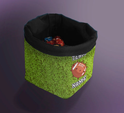 Printed Dice Bag-  Bloodbowl Team Bag