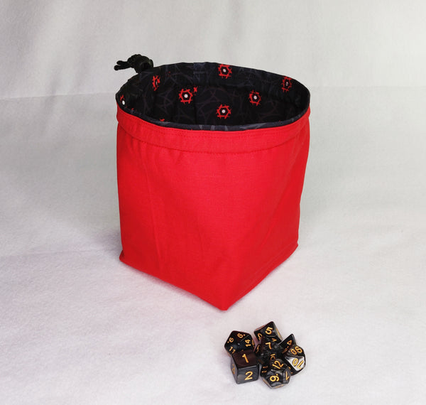 Printed Dice Bag- Ninja Warrior