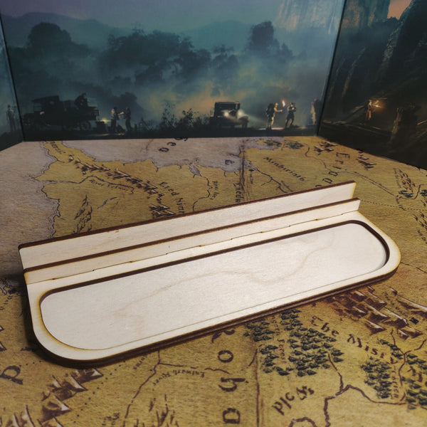 Tabletop Gaming Card Rail, Card Holder, Component Tray, Card Organiser, Gaming Aid, Board Gam Card Holder, Board Game Token Tray, Playing Card Holder, Card Holder for Wingspan, Ticket to Ride, Catan, Arkham Horror