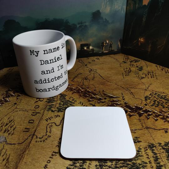 Coaster - Dungeons and Cats Mug Coaster