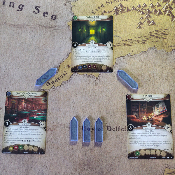Rulers and Guides- Directional Arrows suitable for Arkham Horror LCG