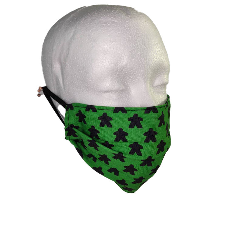 Gaming Face Mask, Meeple Face Mask