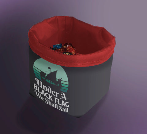 Pirate Dice Bag, Pirate bag for D&D Players, Pirate Gift Bag