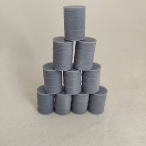 Miniature Gaming - Oil Barrels (set of 10)