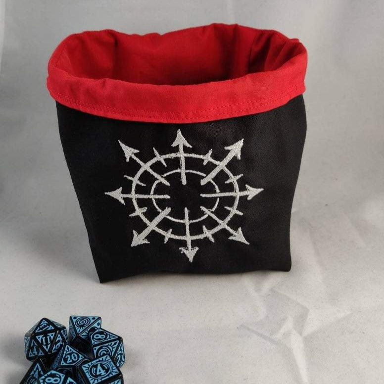 Warhammer Dice Bag, Chaos Star Bag for Warhammer