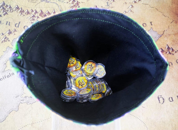 Printed Token Bag-  Quacks of Quedlinburg Ingredient Draw Bag