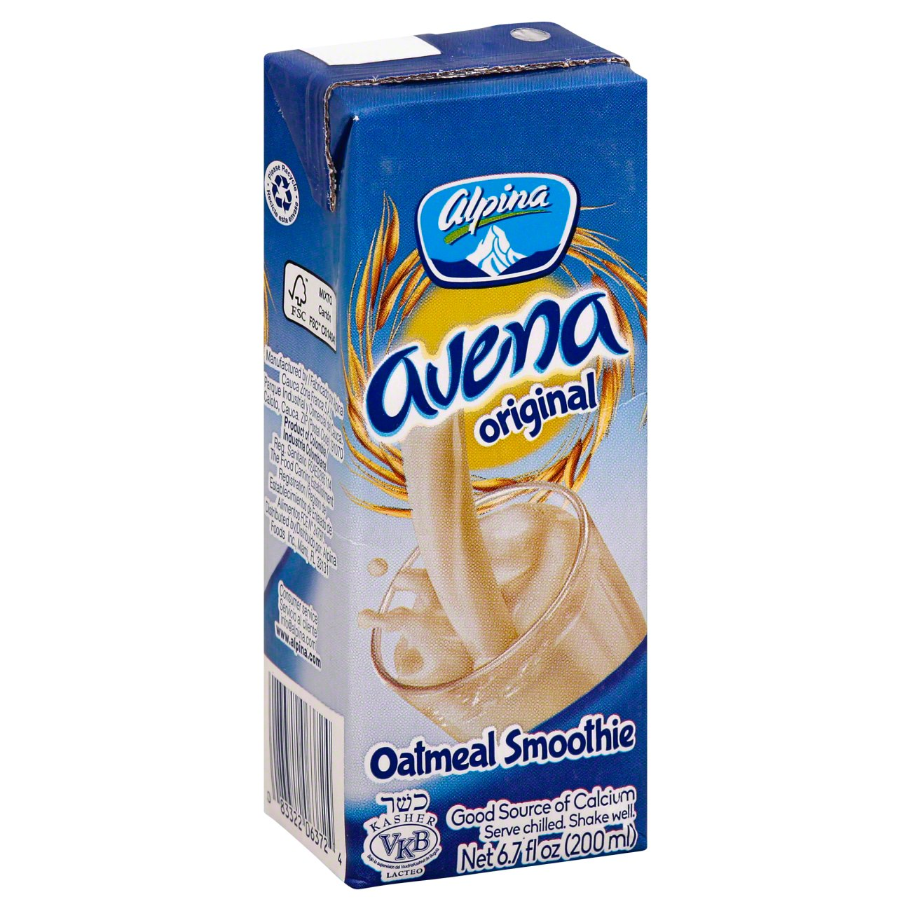 Alpina Avena drink 6.7oz
