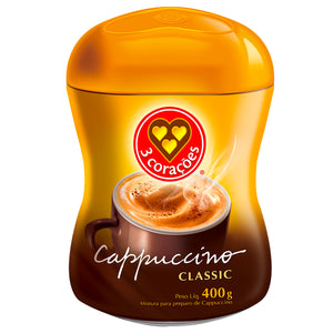 3 Coracoes Cappuccino Classic 400g