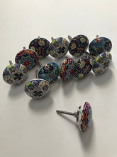 Load image into Gallery viewer, 10 Ceramic Colorful Knobs