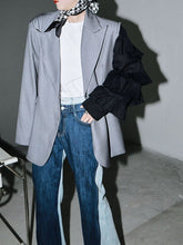 Load image into Gallery viewer, Sawako Loose Denim Wide Leg Pants