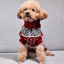 Load image into Gallery viewer, Christmas Cat Dog Sweater Pullover Winter Dog Clothes for Small Dogs Chihuahua Yorkies Puppy Jacket Pet Clothing Ubranka Dla Psa