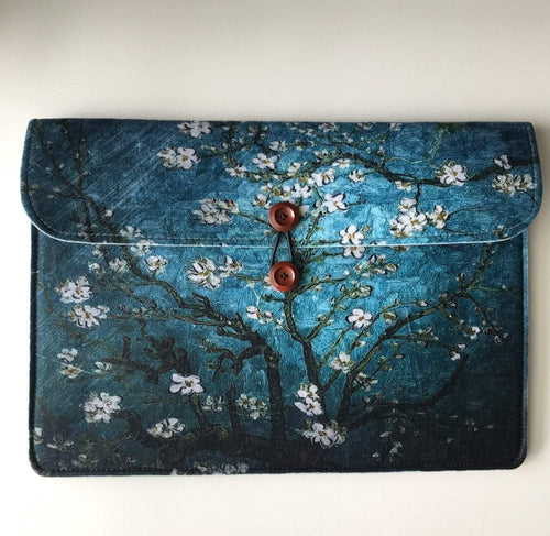 Blue Laptop Case