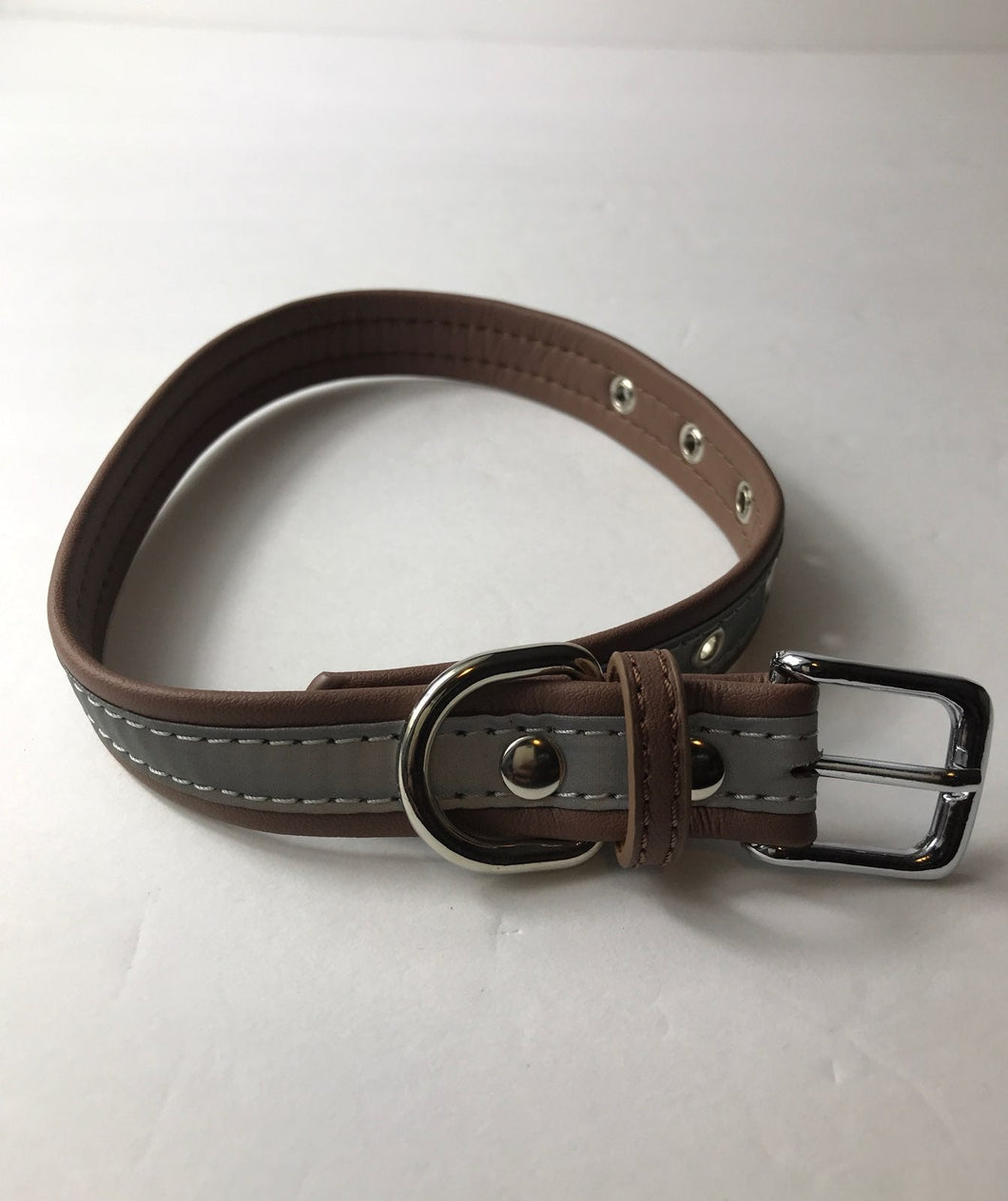 Bonawen Dog Collar Medium Brown