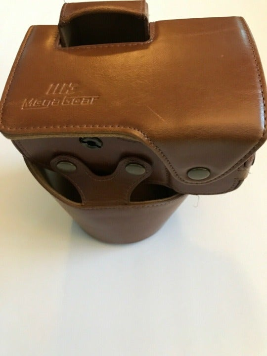 Mega Gear Ever Ready Leather Camera Case Brown
