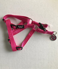 Load image into Gallery viewer, Puptech Adjustable Pink Dog Harness