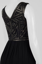 Load image into Gallery viewer, Adrianna Papell Sleeveless Embellished Dress