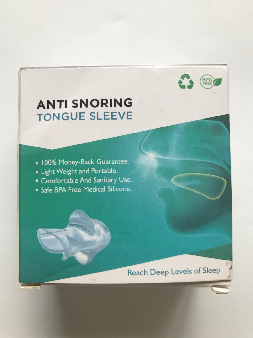 Anti Snoring Tongue Sleeve