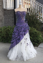 Load image into Gallery viewer, Allure Bridal Purple Formal Dress Size 6