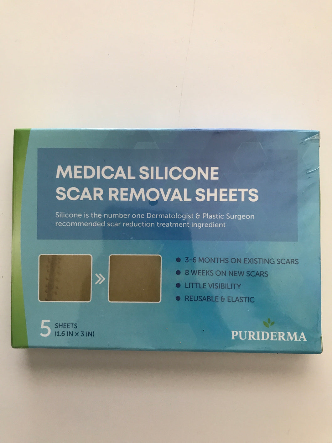 Medical Silicone Scar Removal Sheets