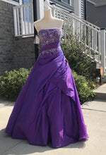 Load image into Gallery viewer, Allure Bridals Purple Quinceanera Dress Q211