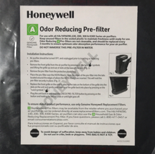 Load image into Gallery viewer, Honeywell Pre Filter Kit A
