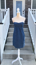 Load image into Gallery viewer, American Eagle Strapless Denim Dress