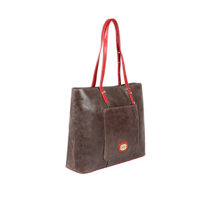 Stracciatella 03 Camel Leather Bag (Brown)