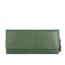 Load image into Gallery viewer, 526 Tri-Fold Wallet (Green)