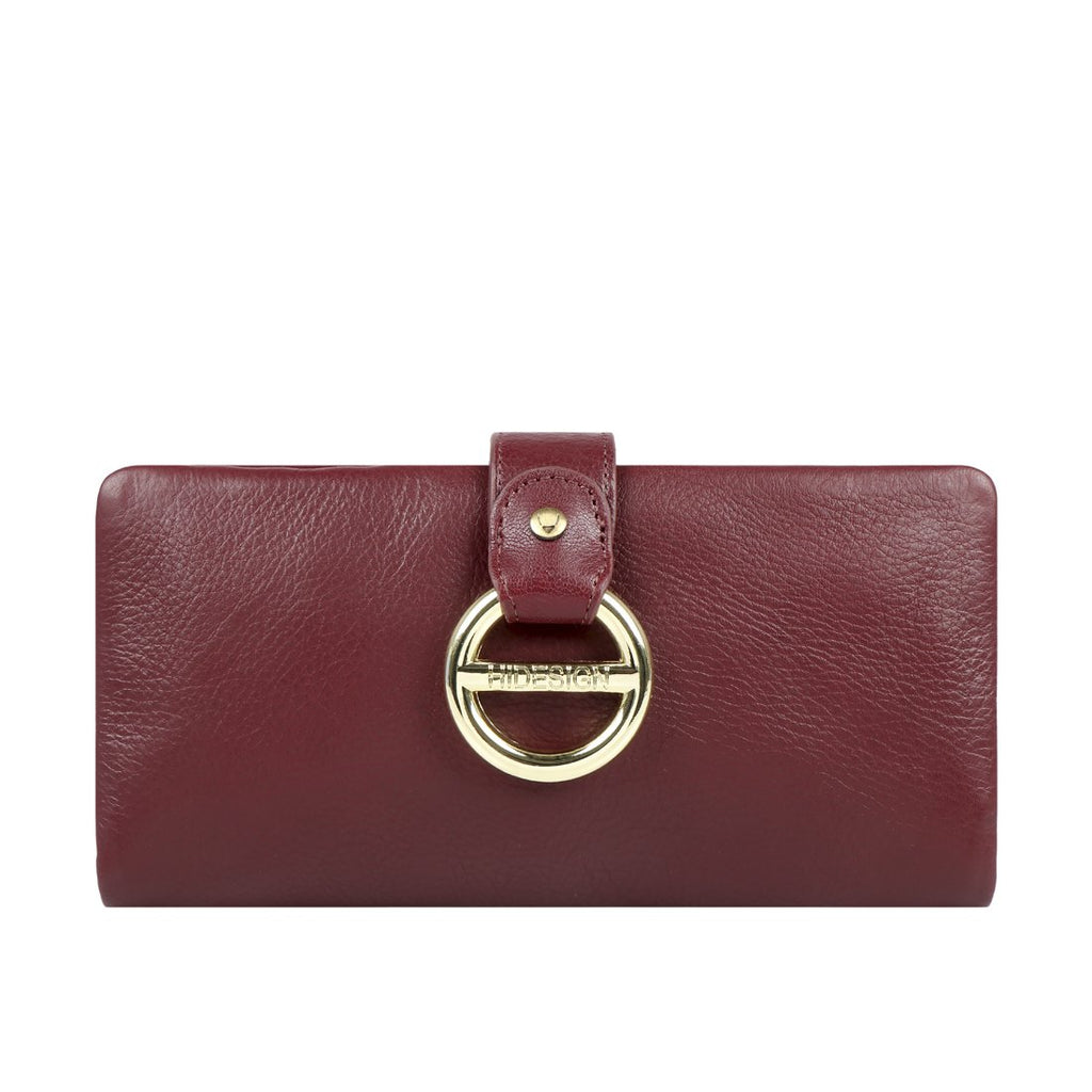 Luxury Deer Leather Cannes Wallet (Marsala)