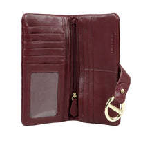 Load image into Gallery viewer, Luxury Deer Leather Cannes Wallet (Marsala)