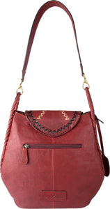 Swala 02 Shoulder Bag (Red)