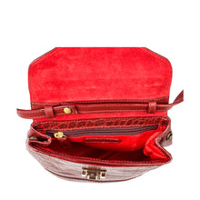 Load image into Gallery viewer, Epocca 01 Croco Satchel (Red)