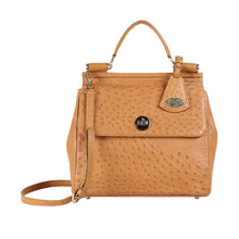 Load image into Gallery viewer, LUXURY OSTRICH LEATHER SEZANNE SATCHEL