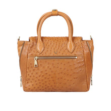 Load image into Gallery viewer, LUXURY OSTRICH LEATHER VARZY SATCHEL