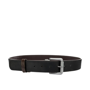 ALANZO MENS REVERSIBLE BELT Brown/Black