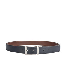 Load image into Gallery viewer, Antonio Men's Reversible Belt (Black/Brown)