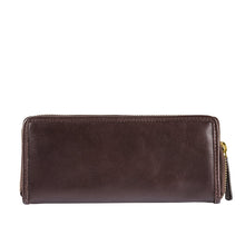 Load image into Gallery viewer, Ascot W1 Zip-Around Wallet (Brown)
