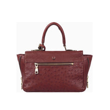 Load image into Gallery viewer, LUXURY OSTRICH LEATHER AZUR SATCHEL